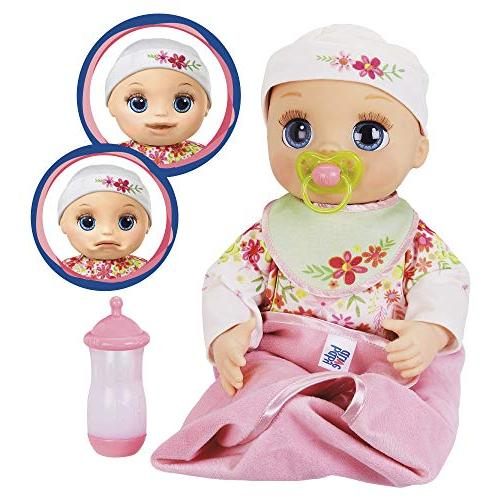 Baby Real As Can Be Realistic Blonde 80+ Lifelike Real Sounds, With Doll Girls and 3 and Up