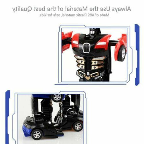Robot Gift Automatic Transformers Kids Toys