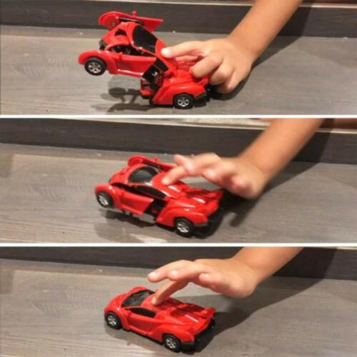 Robot Automatic Vehicle Cool Toy Transformers