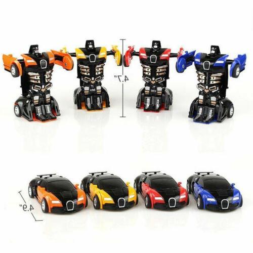 Robot Car Automatic Transformers