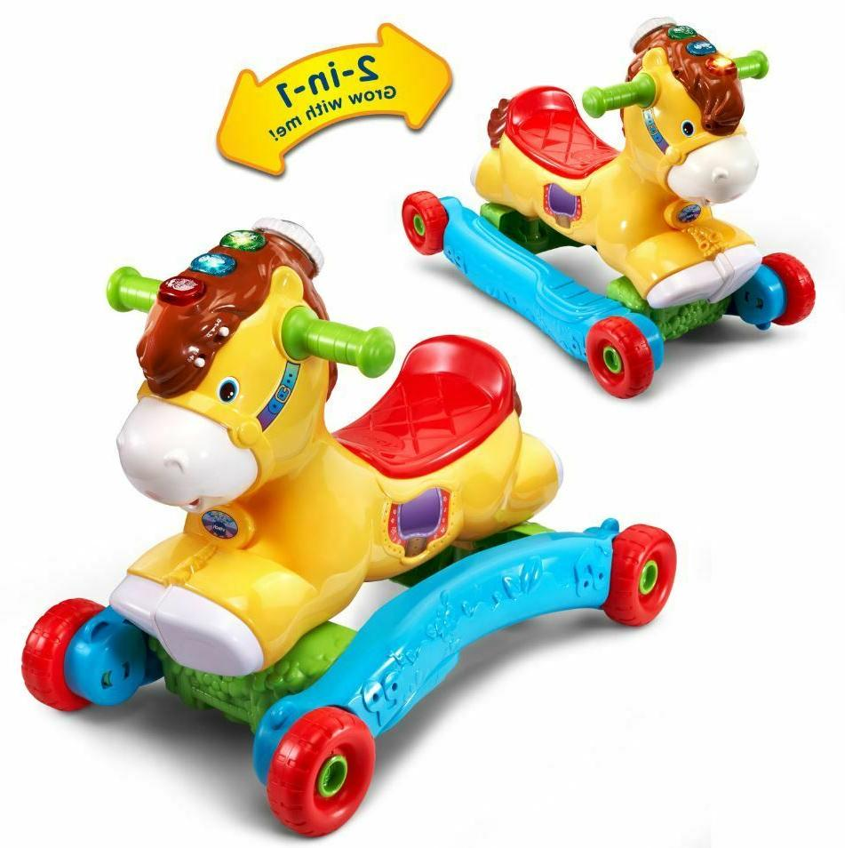 Rocking Horse For Toys Boys Wheels