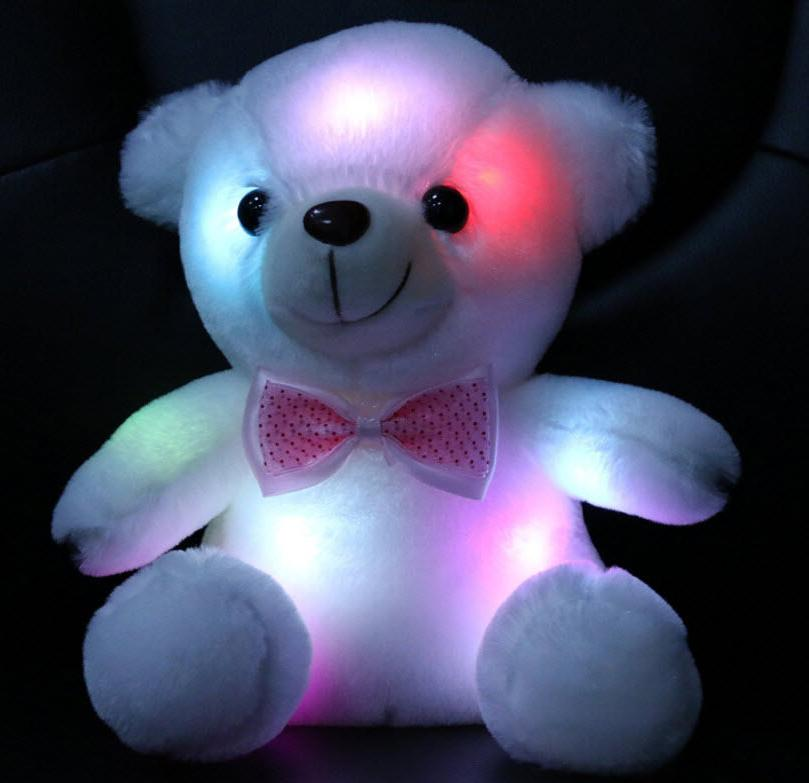Night Room LED Stuffed Cute Bear