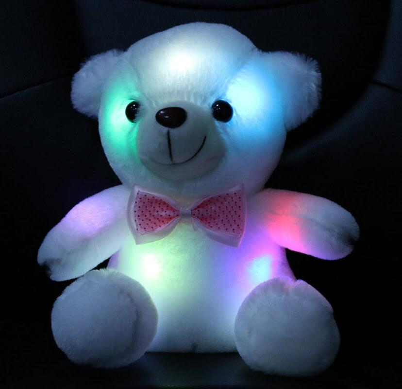Night Lights Room Baby Children Bedroom LED Bear Toy