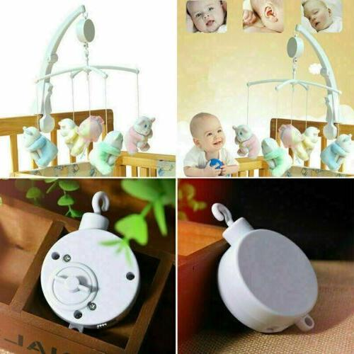 Rotary Crib Bed Toys Clockwork Movement Music Toy