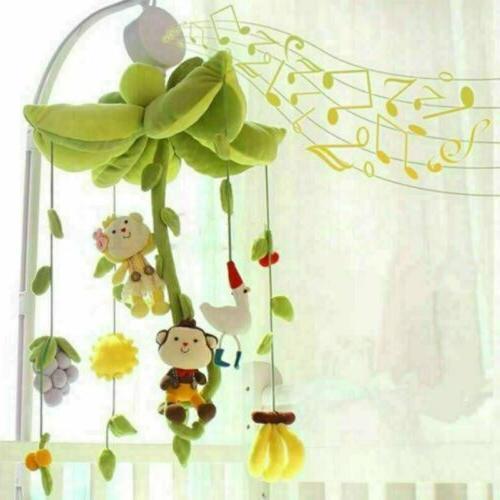 Rotary Crib Bed Toys Clockwork Music Bedding Toy