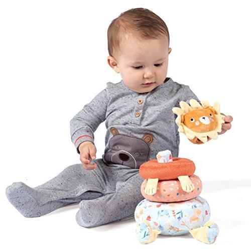 Manhattan Toy Safari Plush Baby Stacking