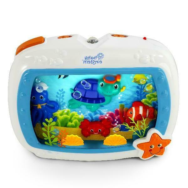 sea dreams soother crib toy with remote