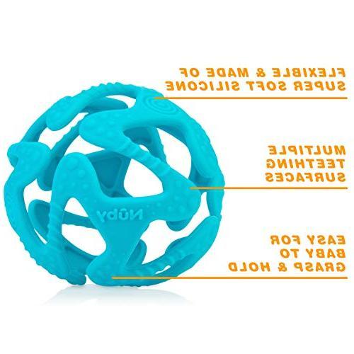 100% Silicone Ball, 3 Colors