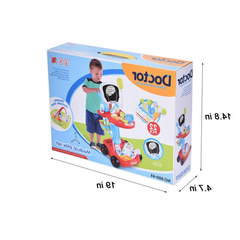 Simulation Trolley Toy Pretend Playset Kid