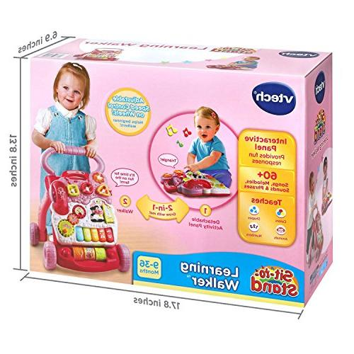 VTech Sit-to-Stand , Pink