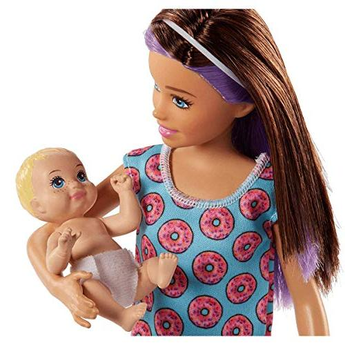 Barbie Skipper Babysitters Doll and