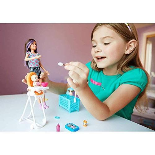 Barbie Doll Feeding Playset