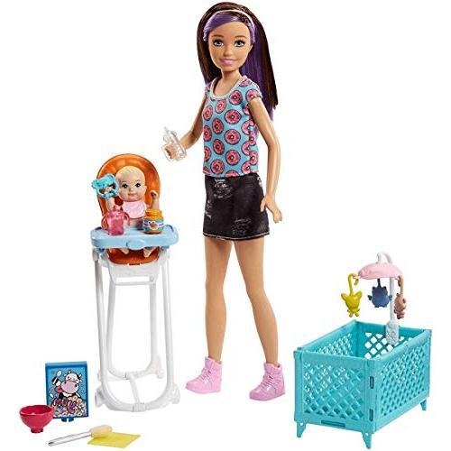 Barbie Babysitters Doll Feeding Playset