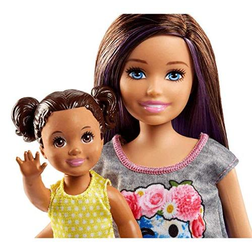 Barbie Doll and Stroller Playset