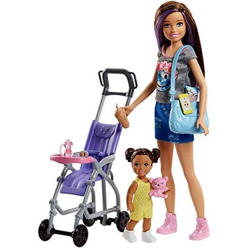 Barbie Skipper Babysitters Inc. Doll Stroller
