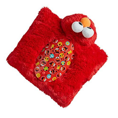 Pillow Sleeptime Sesame Elmo - Stuffed Plush Toy Comfort for Boys All Ages