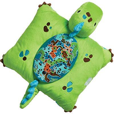 Pillow Green Dinosaur Animal Plush Night Light