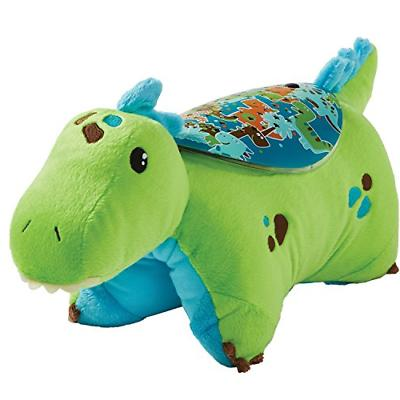 sleeptime lites green dinosaur stuffed animal plush