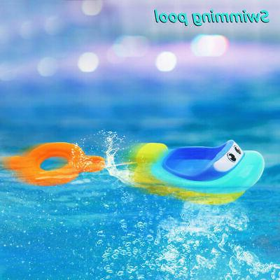 Soft Toys Swimming Boats