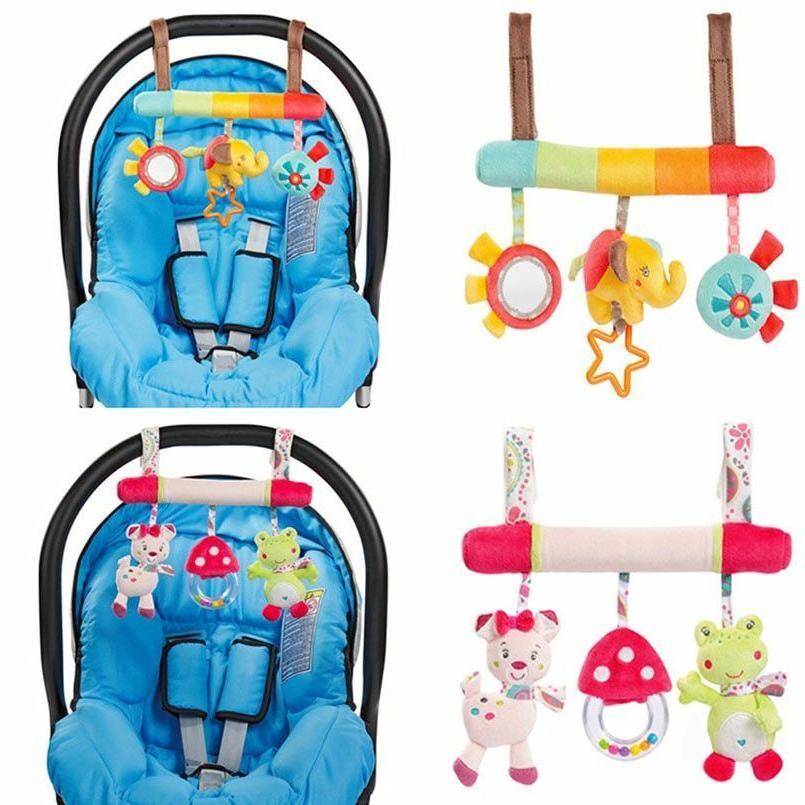 soft infant stroller spiral baby toys