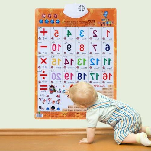 Sound Wall Chart Learning Toys
