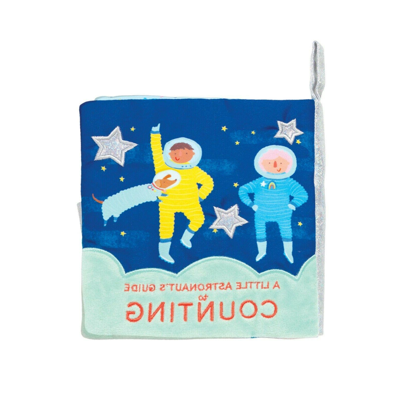 space themed soft baby early counting book