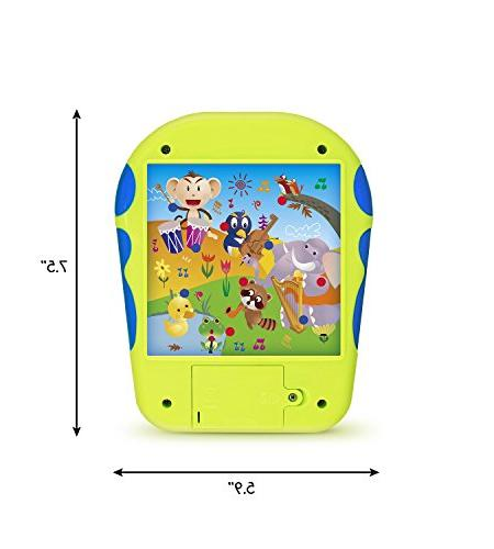 """Spanish Learning Toy Kids. Touch-and-Learn Alphabet with Spanish Number Spanish ABCs, Is?"""" Animals and"""