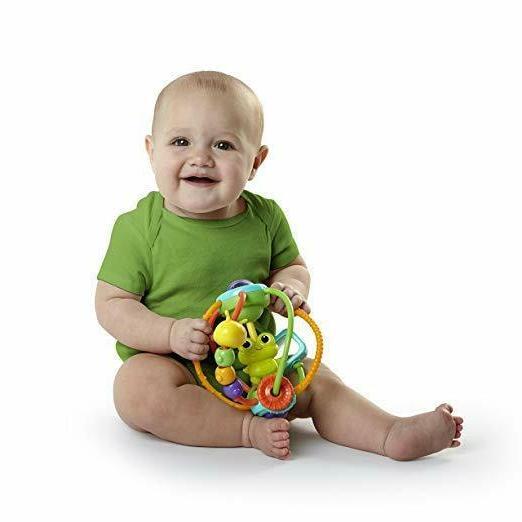 Baby Einstein Tunes Bright Starts Clack & Slide Activity Ball
