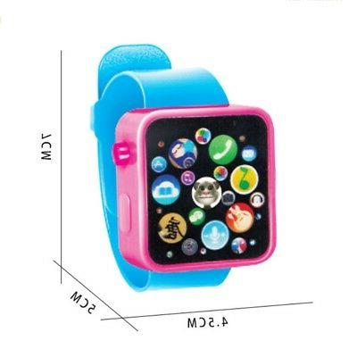 Toddler Watch Sound Gift Education Fun Toys