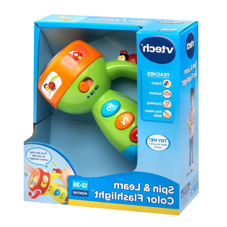 Toddler Toys Color Flashlight Developmental Educational Musical