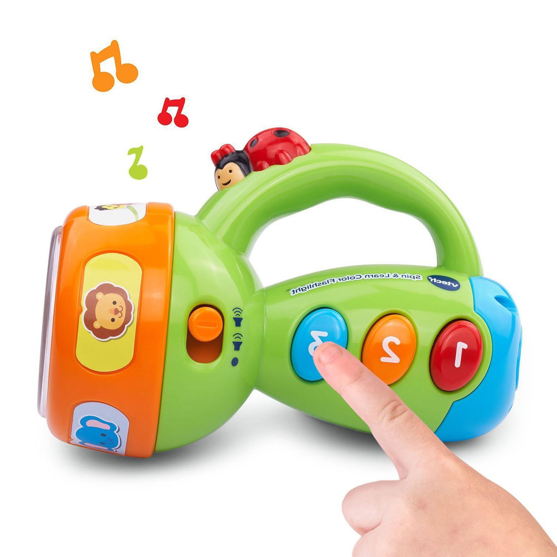 Toddler Toys Vtech Color Flashlight Musical