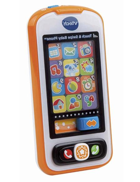 touch and swipe baby phone frustration free