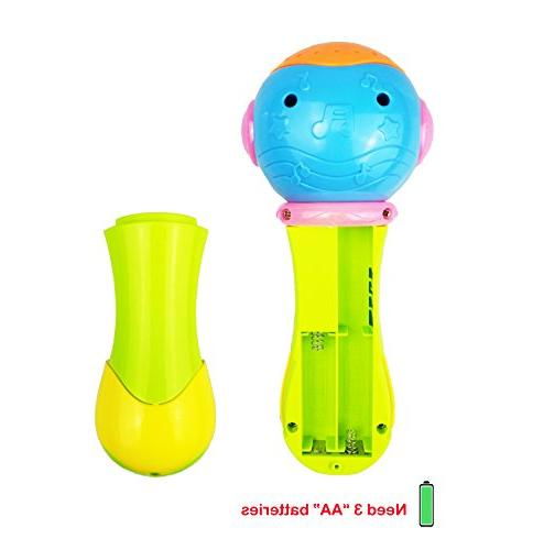 Year Old Toy Microphone Old Baby Girls Kid Toy Toddler Boy 1-3 Year Girl Microphone Age 1 3 Girl Boy Gift 6-18