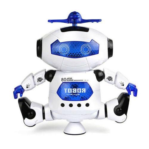 Dancing Robot Toys For Boys Toddler Musical Light Gift