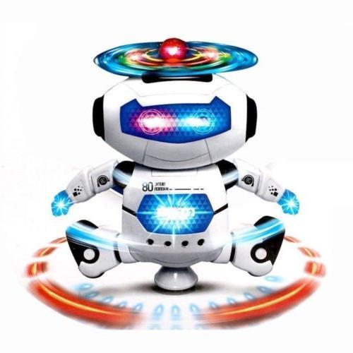Toys Robot Kids Dancing Musical Toy Birthday Xmas Gift