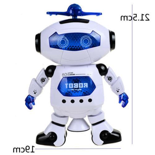 Dancing Robot Toys Boys Toddler Light