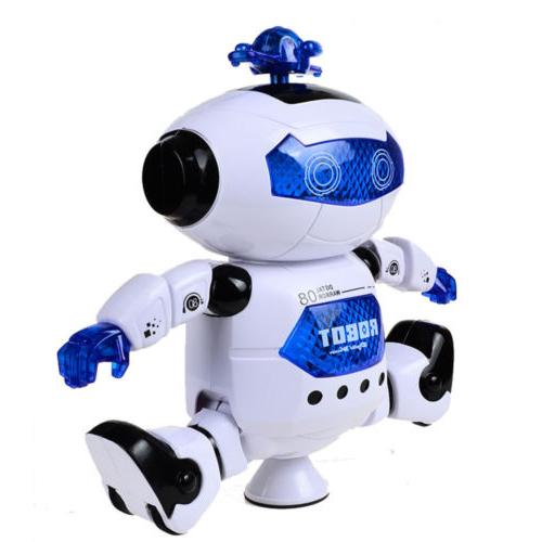 Kids Robot Dancing Musical Toy Xmas Gift