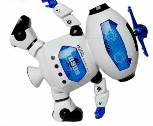 Dancing Robot Light Toy Gift