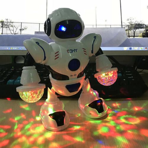 Electric Smart Rotating Singing Dance Robot Light Cool Boy G