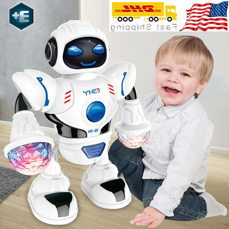 toys for boys electric walking robot led