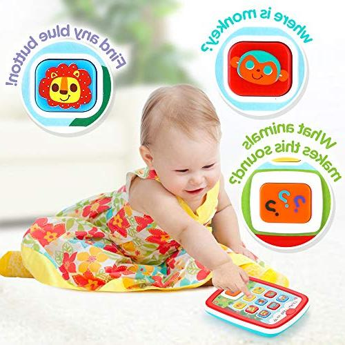 Infant Toys Learning Educational Center 18 up and Girls with Music Light Numbers Games Baby Toys First Birthday