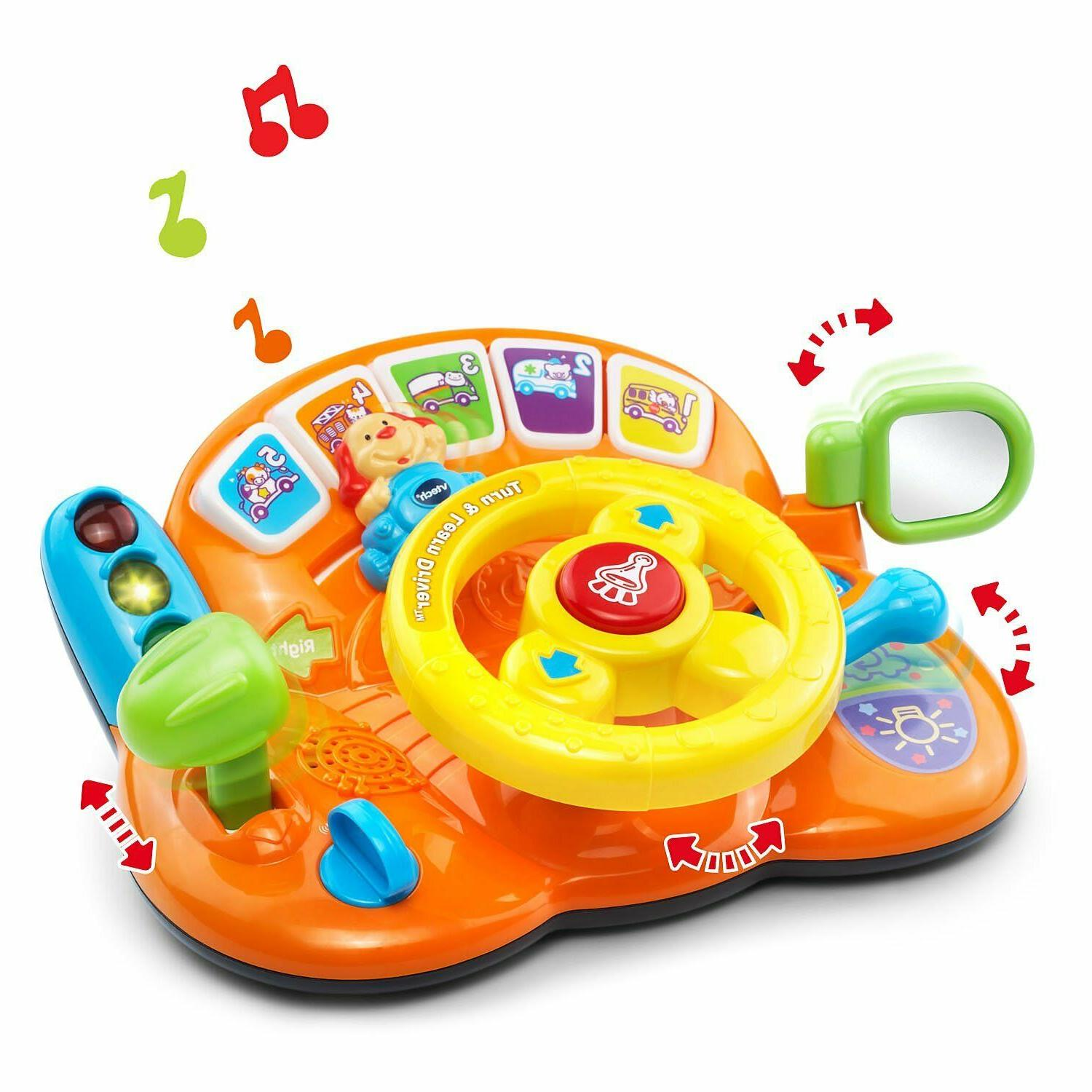 VTech Turn and Learn Driver Orange Online Exclusive