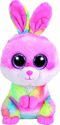 "Ty Beanie Boos ~ LOLLIPOP the 6"" Tie Dyed Easter Bunny ~ 201"