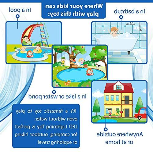 Caseometry Upgraded Waterproof Kids with Girls Toys Prime Boat Pool
