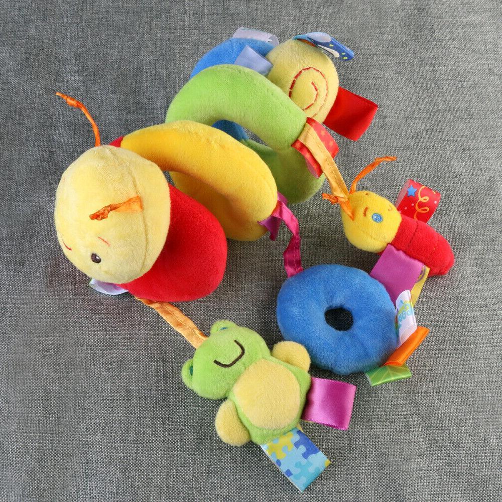 US Spiral Stroller Car Seat Hanging Toys Rattles Toy