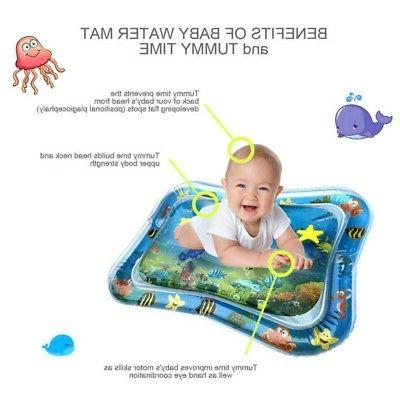 Children &Infants  Fun Toys  Inflatable Baby Water Mat Fun A