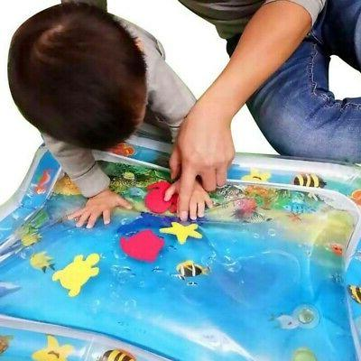 Baby Inflatable Fun Water Play Mat for Kids Children Infants