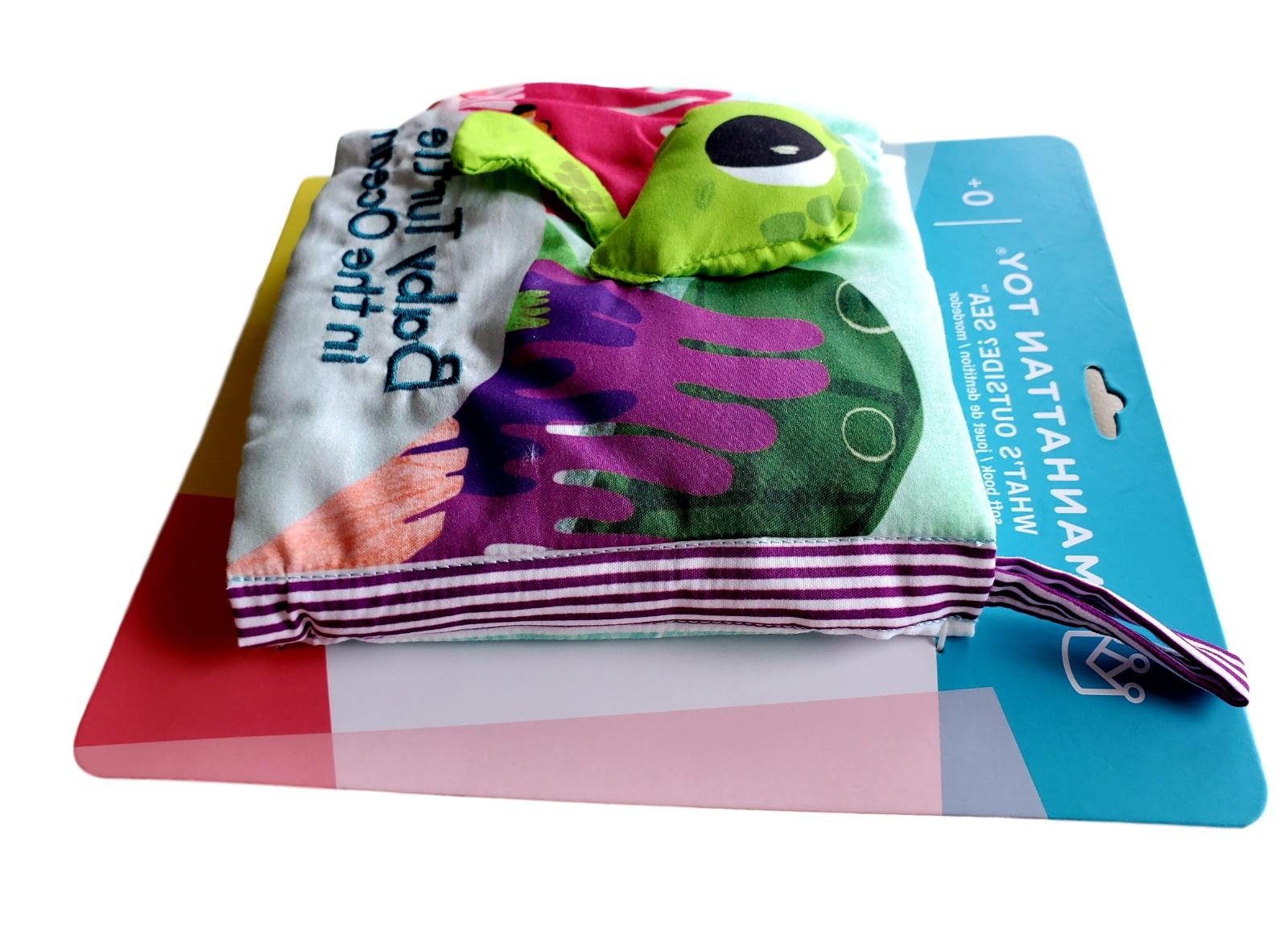 Manhattan Sea-Themed Baby Activity Book