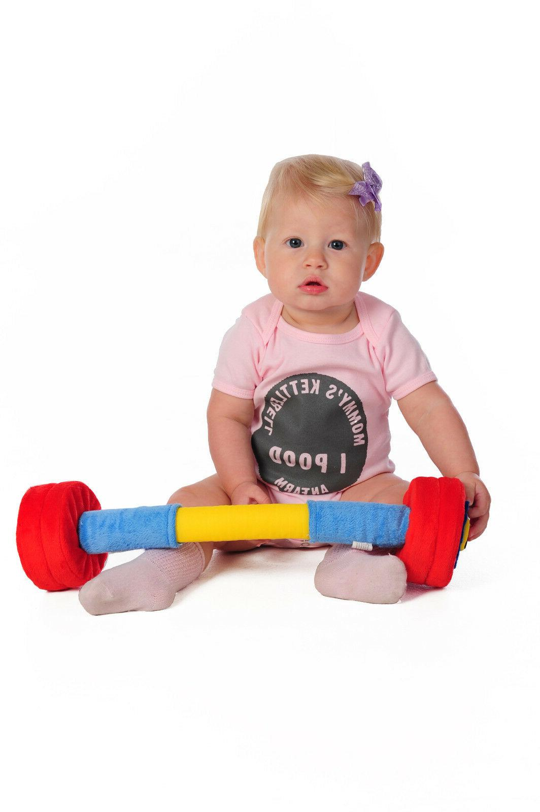 WOD Baby Barbell for Newborns, Infants Babies