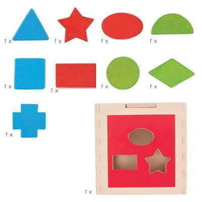 Bigjigs Wooden Shape Centre Toy